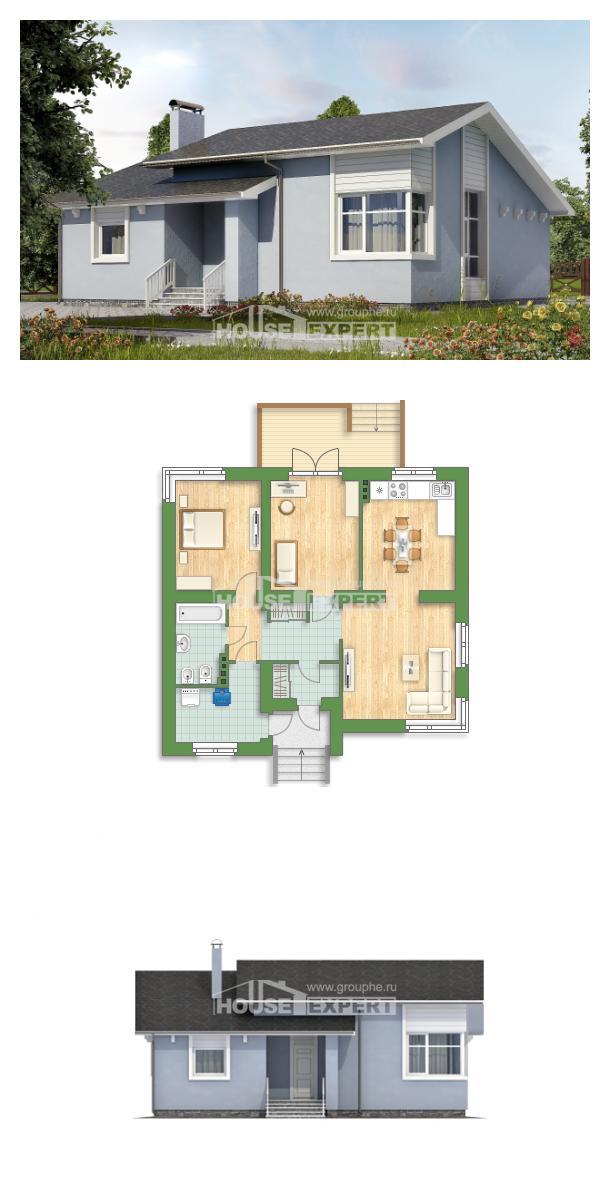 Проект дома 110-003-Л   House Expert