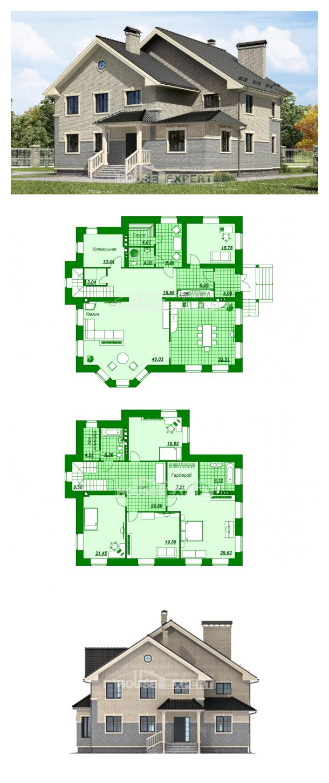 Проект дома 300-004-П | House Expert