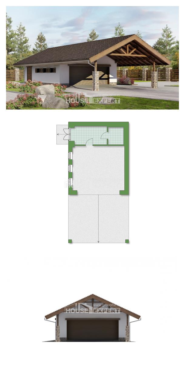 Проект дома 060-005-Л   House Expert