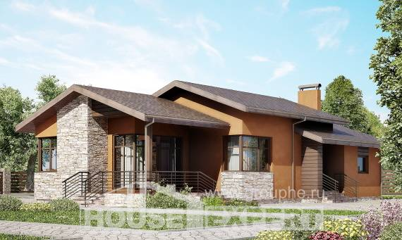 Загородные дома из бруса под ключ недорого – проекты